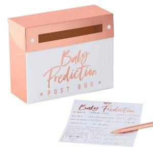 Babyshower spel voorspelling geslacht baby boy baby girl