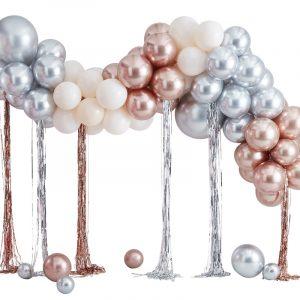 Ballonnenboog zelf maken bruiloft jubileum