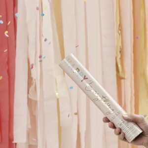 Confetti shooter kanon bruiloft kopen multicolor