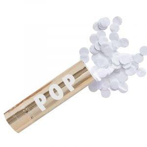 Biologisch afbreekbare confetti kanon bruiloften