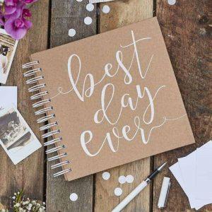 Gastenboek envelop photobooth bruiloft