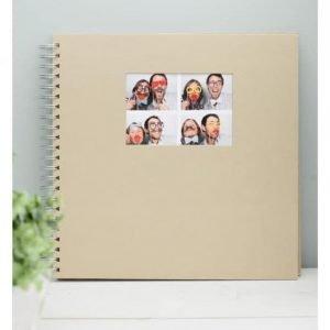 Gastenboek bruiloft fotobooth polaroid kraft