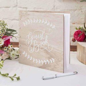Gastenboek trouwen bohemian look