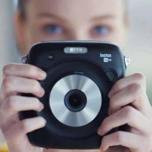 FujiFilm Instax Square polaroid camera huren.