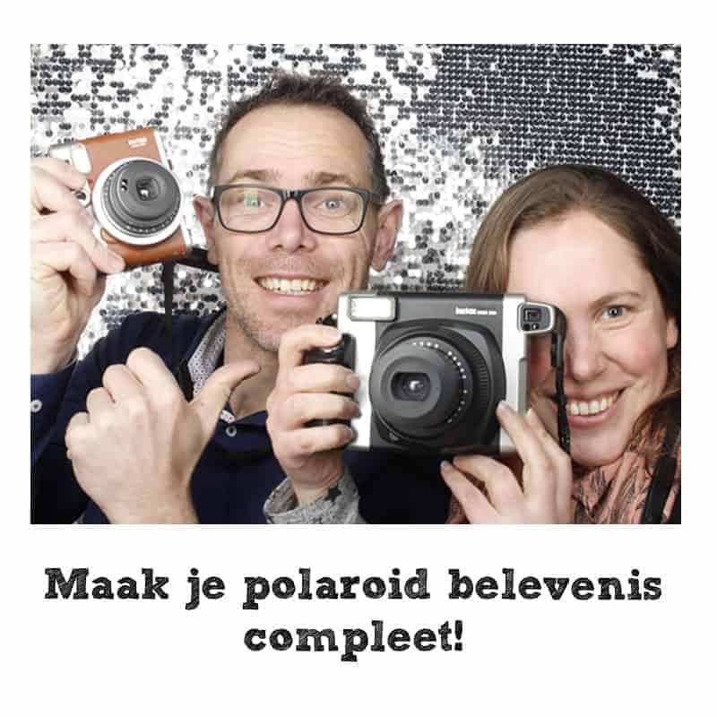 Polaroid camera belevenis