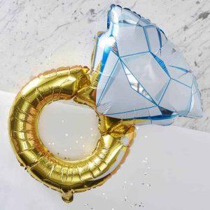 Ring ballon bruids accessoires
