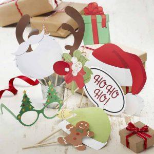 kerst foto props voor een leuke kerstfeest