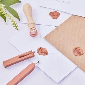 Wax stempel love koper