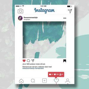 Instagram fotoframe
