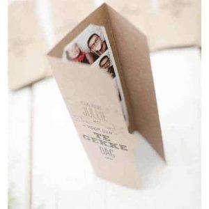 bedankje bruiloft fotomapje fotobooth