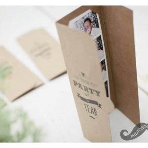 photobooth mapje voor fotostrip foto