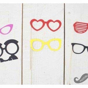 Foto props funny glasse