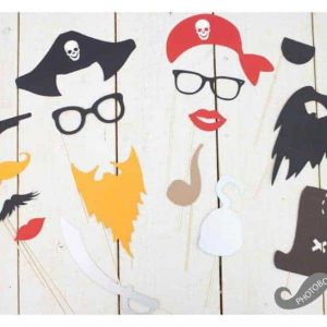 pirate photobooth props
