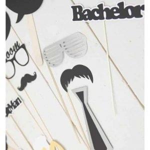 Bachelor photobooth props